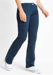 Broek bootcut, bpc bonprix collection, donkerblauw