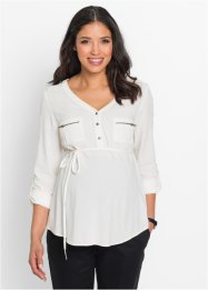 Zwangerschapsblouse, bpc bonprix collection, wolwit