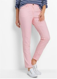 Stretchbroek smal, bpc bonprix collection, roze poudre