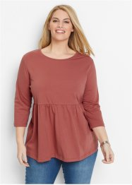 Shirt, bpc bonprix collection, marsala
