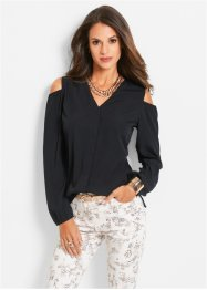 Blouse, bpc selection, zwart