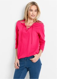 Longsleeve, bpc bonprix collection, hibiscuspink