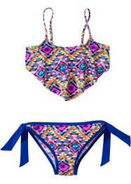 Bikini (2-dlg. set), bpc bonprix collection, geel/blauw/pink