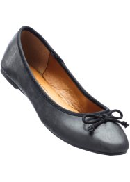 Ballerina's, bpc bonprix collection, zwart metallic