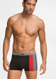 Boxershort (set van 3), bpc bonprix collection, zwart/grijs