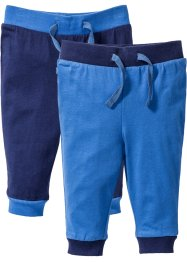 Babybroek (set van 2), bpc bonprix collection, middernachtblauw/gletsjerblauw
