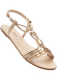 Sandalen, bpc bonprix collection, sand