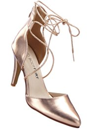 Pumps, BODYFLIRT, rosé metallic