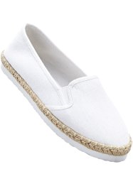 Espadrilles, bpc bonprix collection, wit