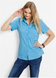 Blouse, bpc bonprix collection, lichtblauw