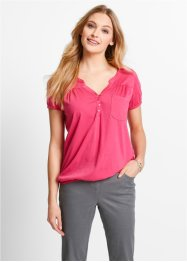 Blouse, bpc bonprix collection, pink