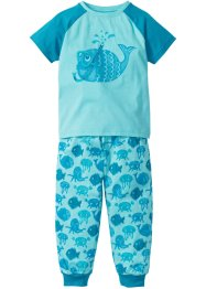 Pyjama (2-dlg. set), bpc bonprix collection, aqua/turkoois