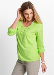 Longsleeve, bpc bonprix collection, kiwigroen