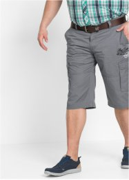 Bermuda regular fit, bpc bonprix collection, rookgrijs
