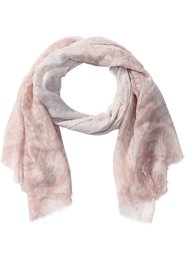 Sjaal, bpc bonprix collection, roze/wit