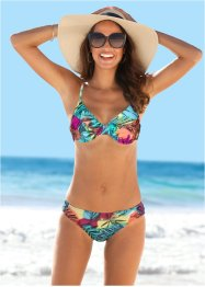 Beugel bikinitop, bpc bonprix collection, pink/blauw gedessineerd