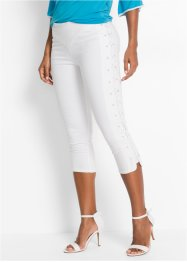 Broek, BODYFLIRT boutique, wit