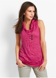 Shirttop, bpc bonprix collection, donkerpink