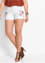 Jeansshort, BODYFLIRT, white denim