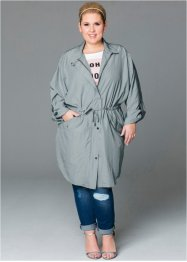 Parka, bpc bonprix collection, zilvergrijs