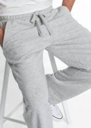 Sweatbroek regular fit, bpc bonprix collection, lichtgrijs gemêleerd