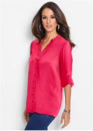 Blouse, bpc selection, hibiscuspink