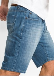 Jeansbermuda regular fit, John Baner JEANSWEAR, middenblauw used