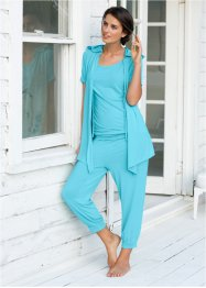 Outfit (3-dlg. set), bpc bonprix collection, aqua