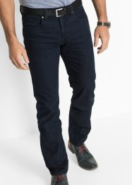 Stretchjeans regular fit straight, bpc selection, donkerblauw