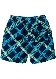 Zwemshort, bpc bonprix collection, turkoois geruit