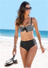Beugelbikini (2-dlg. set), bpc selection, zwart/wit