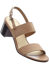Sandaaltjes, bpc bonprix collection, camel