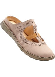 Clogs, bpc bonprix collection, sand/camel
