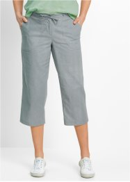 Linnen broek, bpc bonprix collection, wit
