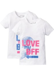 Shirt «BFF» (set van 2), bpc bonprix collection