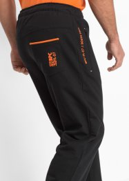 Joggingbroek regular fit, bpc bonprix collection, zwart