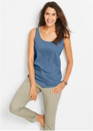Shirttop, bpc bonprix collection, jeansblauw