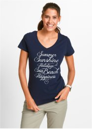 Shirt, bpc bonprix collection, donkerblauw Summer