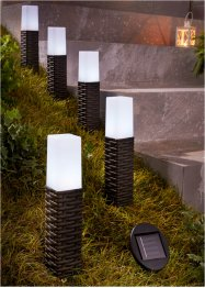 Solarlamp (5-dlg. set), bpc living