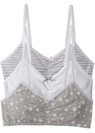 Bustier (set van 3), bpc bonprix collection