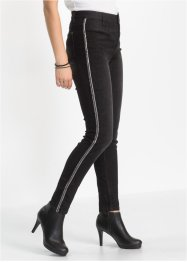 High-waist-broek skinny, RAINBOW