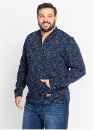 Sweater met baseballkraag, bpc bonprix collection