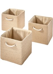 Manden «Pauline» (set van 3), bpc living bonprix collection