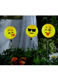 Solarlamp «Happy Face» (3-dlg. set), bpc living