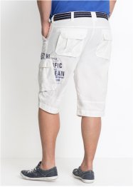 Lange cargo bermuda, loose fit, bpc bonprix collection