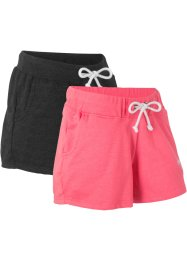 Sweatshort (set van 2), bpc bonprix collection