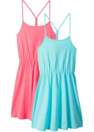 Zomerjurk (set van 2), bpc bonprix collection