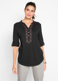 Katoenen shirt, 3/4 mouw, bpc bonprix collection