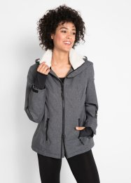 Outdoor jas met teddyfleece, bpc bonprix collection