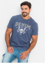 T-shirt met applicatie en print, John Baner JEANSWEAR